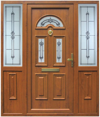 Composite doors dublin composite door range ireland for Brown upvc door